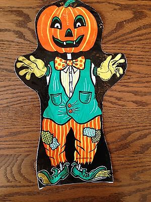 Vintage Flavour Candy Co. Plastic Bag Puppet (Late 1960's - Early 1970's)
