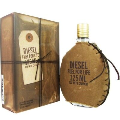 Diesel Fuel For Life 125ml EDT (M) SP Mens 100% Genuine (New)