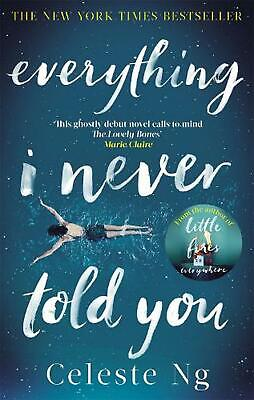 Everything I Never Told You by Celeste Ng Paperback Book Free Shipping!