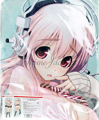 Authentic Super Sonico Hugging Pillow Dakimakura Cover Case Hobby Stock New