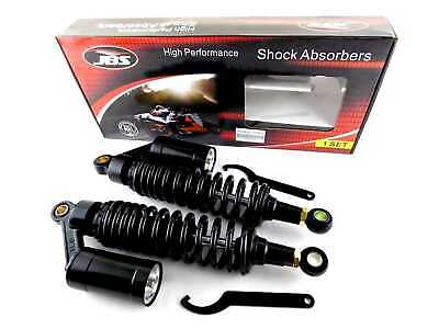 CAN-AM TNT MX2 250 340mm JBS REAR AIR/NITROGEN CELL SHOCK ABSORBERS BLK