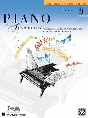 PIANO ADVENTURES - LEVEL 2A [9781616 - RANDALL FABER NANCY FABER (PAPERBACK) NEW