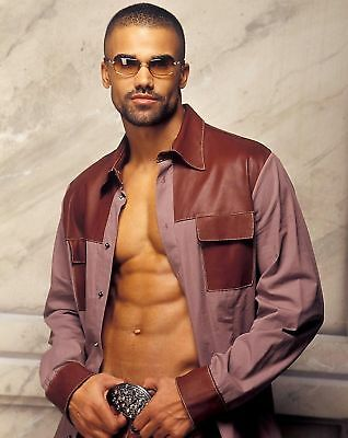 Shemar Moore Criminal Minds Actor 8x10 Modeling Photo