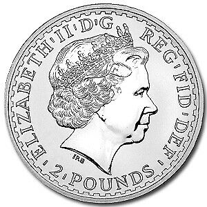 2006 Great Britain 1 oz Silver Britannia BU - SKU #12171