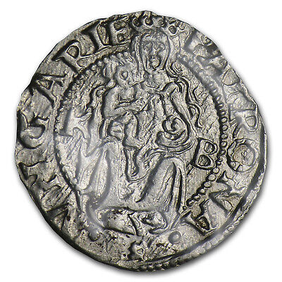 1400-1600 Hungary Silver Denar Madonna & Child (Deluxe Album) - SKU #50727