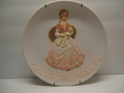 Mother's Day Plate 1988 Treasured Memories 1982 ENESCO Mother's Day Plate NIB