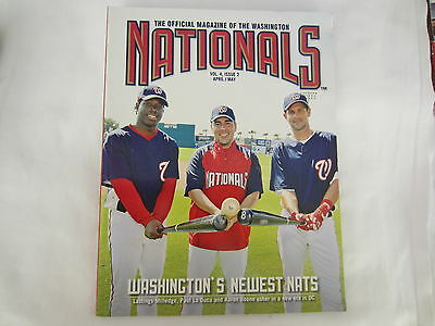 2008 Official Magazine Of The Washington Nationals