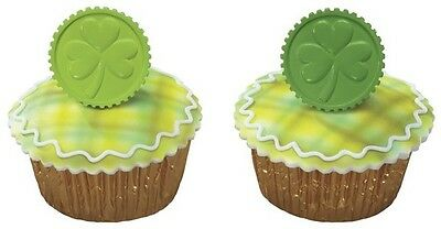 12 ~ St. Patrick's Day Coin Layons ~ Cake/Cupcake Decoration ~ 14903