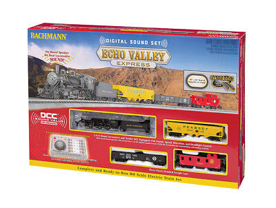 Bachmann HO Scale Train Set DCC Sound Equipped Echo Valley Express 00825