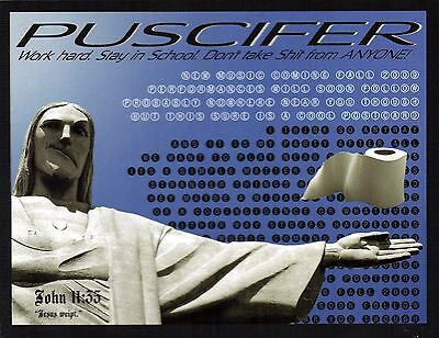 """Puscifer Postcard """"C"""" Is For (Please Insert Sophomoric Genitalia Reference Here)"""