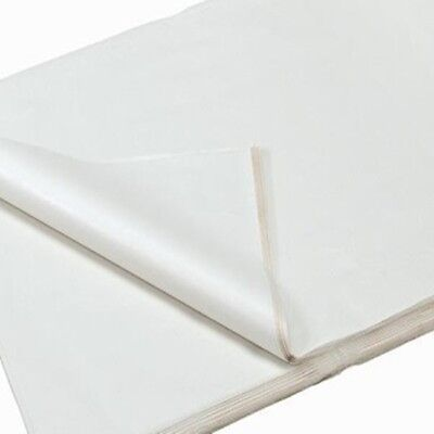 Realpack Large WHITE ACID FREE TISSUE WRAPPING PAPER SIZE 500 X 750 MM QUALITY