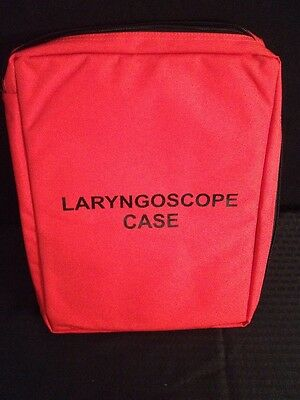NEW IRON DUCK Laryngoscope Case Orange approx dimenions 17x13x3