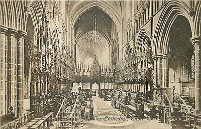 ANGLETERRE chester cathedral