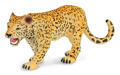 FREE SHIPPING | CollectA 88206 Adult Leopard Big Cat Replica - New in Package