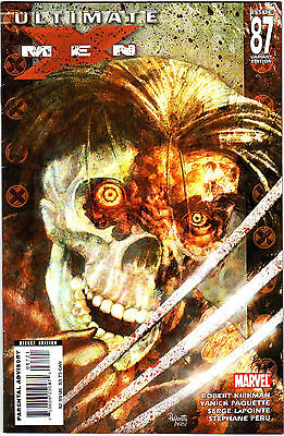 Ultimate X-Men 87 Marvel Comics 2007 Robert Kirkman Zombie Variant Edition