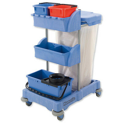 Janitor Cleaners Trolley~Cleaning Supplies ©