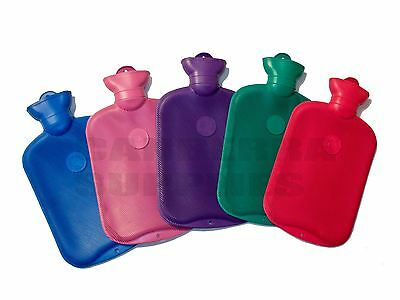Coronation Ribbed Cosy 2 Litre Hot Water Bottle - Various Colours