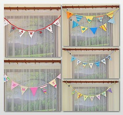 Pennants/Garlands/Windows Decoration/Baby Room Nursery GIFT/ Cotton