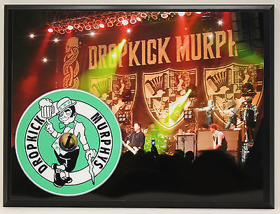 DROPKICK MURPHYS Limited Edition Picture Disc Poster Art Display Free Shipping