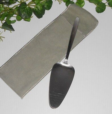 """Vintage Stainless by Englishtown JAPAN Server Pie Spatula in Bag 10"""" L"""