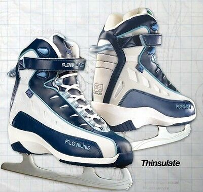 New DR SK55 soft boot junior girl's ice figure skates size sz 4 childs women jr