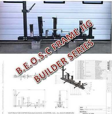 Build-Your-Own Frame Jig - Builders Blue Prints, Instructional Video & dxf Files
