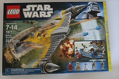 LEGO Star Wars 7877 NABOO STARFIGHTER Target Exclusive new sealed box