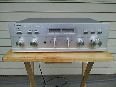 Vintage YAMAHA CA 510 Solid State Natural Sound Integrated Amp REDUCED price
