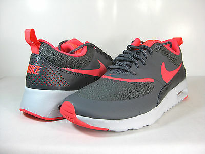 on sale 8c008 80bed NIKE WMNS AIR MAX THEA Dark Grey Hyper Punch-Platinum -599409 014-