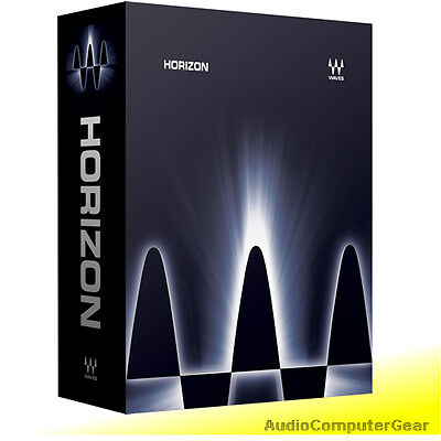 Waves HORIZON Bundle Audio Software Effect Plug-in NEW
