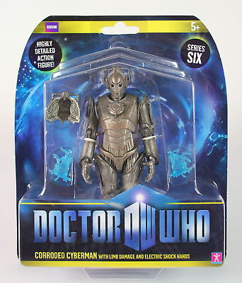 """Doctor Who CORRODED CYBERMAN limb damage 6"""" action figure toy Dr Who NEW!"""