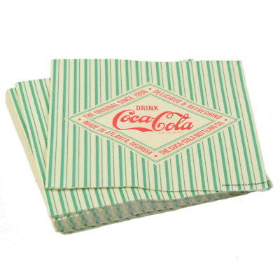 Coca-Cola Bottling Co Paper Cocktail Napkins Vintage Style Party Supplies