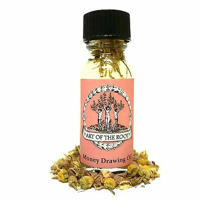 Money Drawing Oil Financial Success Hoodoo Conjure Wicca Money Spells Witchcraft