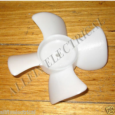 10cm Plastic CCW Condensor Fan 4.5mm Mounting & 4 Blades - Part # RF070I