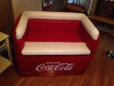 VINTAGE WESTINGHOUSE COCA COLA Coke ICE BOX Chest Cooler Couch MAKE OFFER