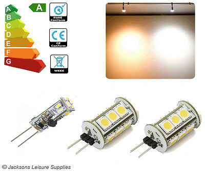 G4 12 Volt Tower Led Bulbs To Replace G4 Halogen Caravan Lights