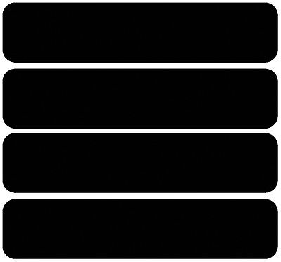 3M Scotchlite Reflective Helmet Stickers/Decals x4 for use in France va colours