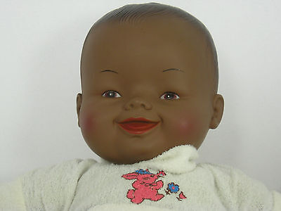 Vintage African American Baby Doll by Horsman 1982