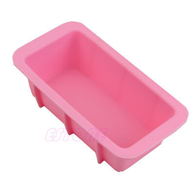 RectangleSilicone Mould Ice Cube Tray Cake Muffin Soap Cupcake DIY Molds