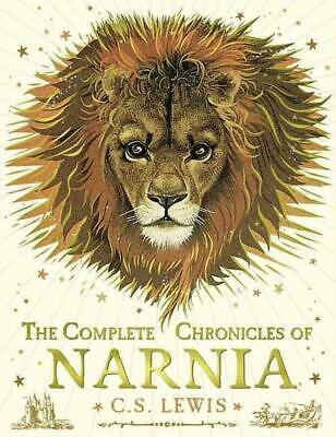 The Complete Chronicles of Narnia by C.S. Lewis Hardcover Book