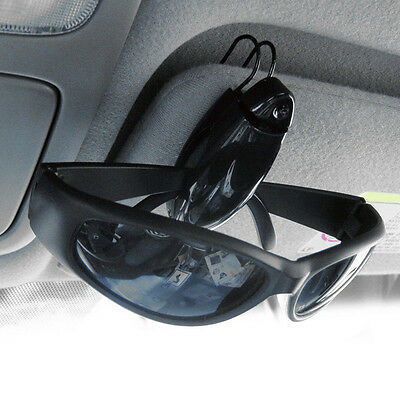 Useful Car Accessory Sun Visor Sunglasses Eye Glasses Card Holder Clip Case Bag