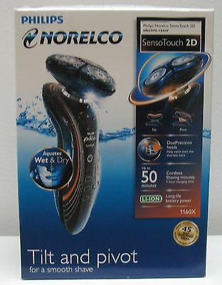 NORELCO 6500 SENSOTOUCH 2D ROTARY RAZOR , NEW IN BOX