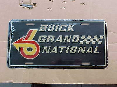 1985 1986 1987 Buick Grand National GN front plate new