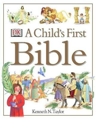 A Child's First Bible by Kenneth N. Taylor Hardcover Book Free Shipping!