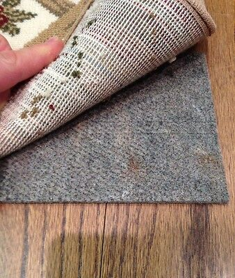 10'x 14' H Plus Non Slip Shaw Recycled Fiber Rug Pad for Hard Floors