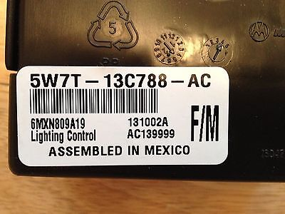 2005 CROWN VICTORIA / GRAND MARQUIS (LCM) LIGHTING CONTROL MODULE 5W7T-13C788-AC