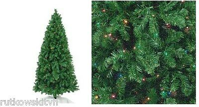 7-Foot 120V Pre-Lit Artificial Christmas Tree Springfield Noble 300-Lights