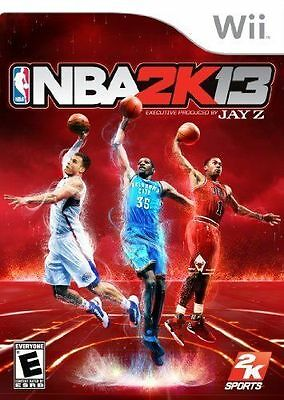 NBA 2K13  (Wii, 2012)  (1905-SM39)  SHIPS NEXT BUSINESS DAY  *FREE SHIPPING USA*