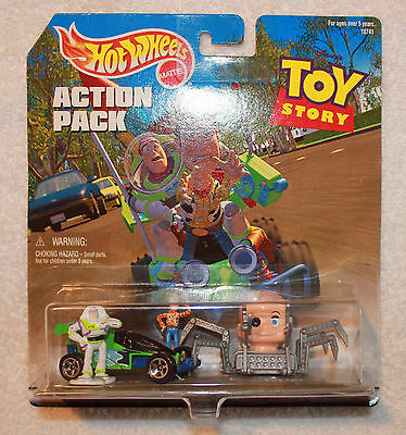Toy Story Hot Wheels Toy Story Action Pack with Baby Face and RC!