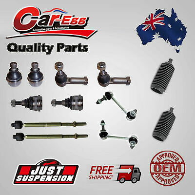 12 x Ford Falcon AU BA BF Rack Tie Rod Ends Boots Steering Ball Joints Sway Bar